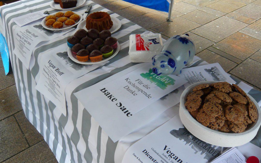 Vegan Bake Sale April 2016