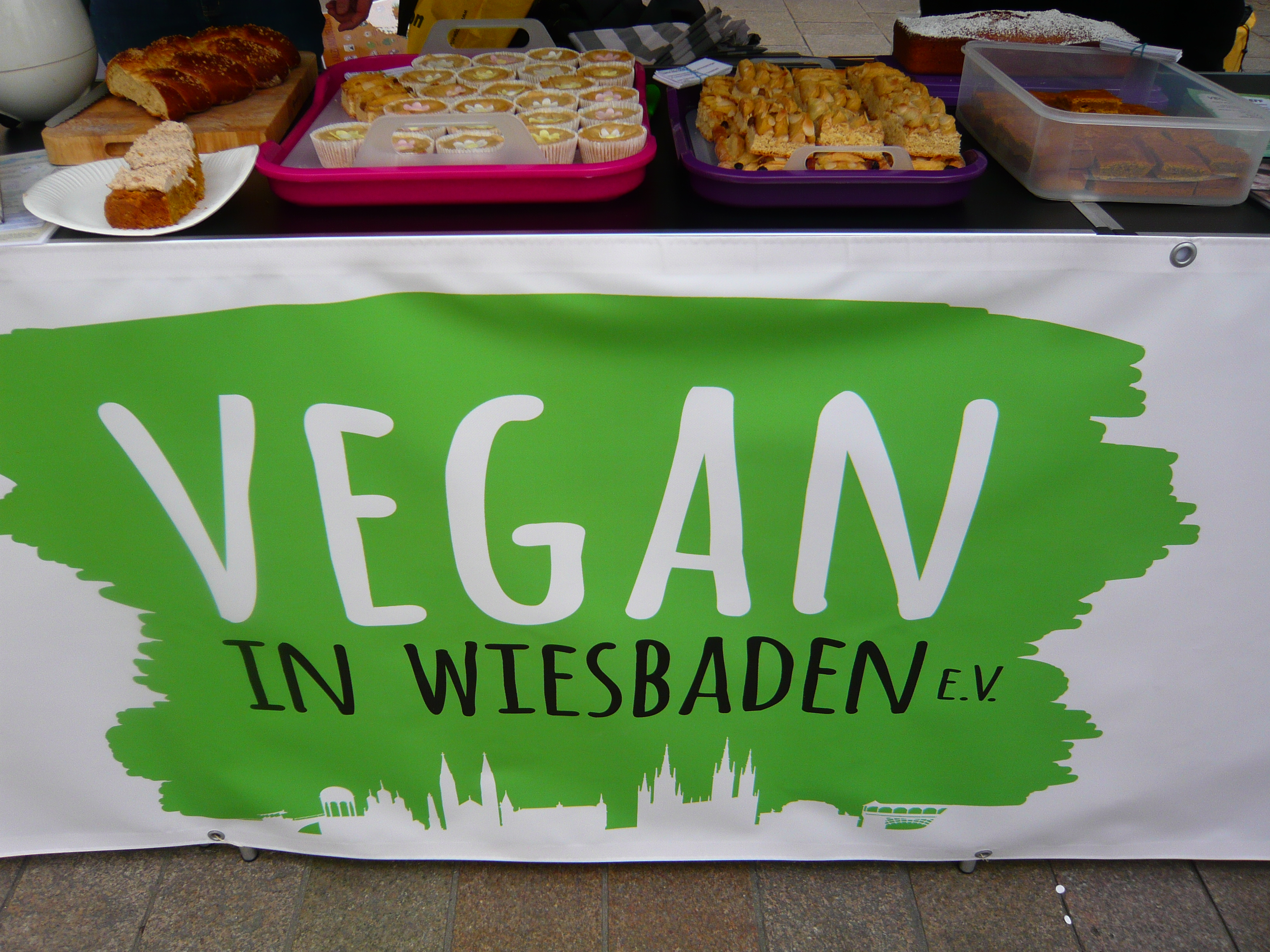 Vegan Bake Sale April 2019 Vegan In Wiesbaden